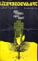 Kleine Affiche IJzerbedevaart Diksmuide 1985 - - Affiches