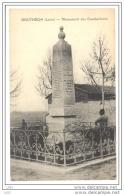 CPA 42 - BOUTHEON (Loire) - Monument Des Combattants - Otros Municipios