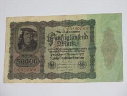 50 000 Funfzigtaufend Mark - Reichsbanknote  Berlin 1922  - Germany  - Allemagne **** EN ACHAT IMMEDIAT **** - [ 3] 1918-1933 : Weimar Republic