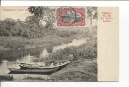 Belgisch Congo Belge Genre De Carte Maximum C.bleu Kinshasa En 1912 .v.Stockholm Suède PR1604