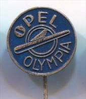 OPEL OLYMPIA - Car, Auto, Vintage Pin, Badge - Opel
