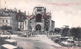 (64) Biarritz - Eglise Sainte Ste Eugéni Sortie De Messe - Trés Bon état - 2 SCANS - Biarritz