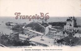 (64) Biarritz - Port Vieux, Sémaphore Et Atalaya - Excellent état - 2 SCANS - Biarritz