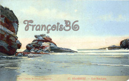 (64) Biarritz - Les Rochers - Edit. Aux Dames De France, Bayonne - Trés Bon état - 2 SCANS - Biarritz