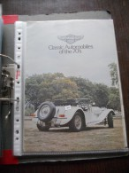 Panther Produzione Auto Catalogo Anni ´70  Depliant Originale Factory Brochure Catalog Prospekt - Cars