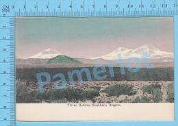 Oregon ( Three Sisters Southern Oregon ) Post Card Carte Postale Recto/Verso - Photographie