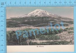 Californie USA ( Mt Shasta  ) Post Card Carte Postale Recto/Verso - Photographie