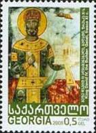 Georgia 2008 King David Fresko1v MNH - Georgia