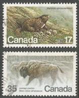 Canada. 1981 Endangered Wildlife (5th Series). Used Complete Set SG 1006-1007 - 1952-.... Reign Of Elizabeth II