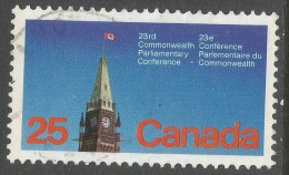 Canada. 1977 22nd Commonwealth Parliamentary Conference, 25c Used SG 894 - Used Stamps