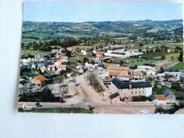 Carte Postale Ancienne : RIGNAC : Vue Aérienne , C.E.G. Et Foirail , En 1969 - France