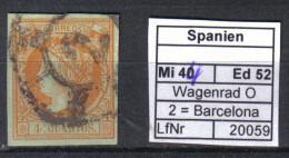 Spanien Mi. 44 O Barcelona - Used Stamps