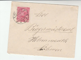 1918? Prosec AUSTRIA (czech)  COVER 10h Stamps Czechoslovakia - 1850-1918 Empire