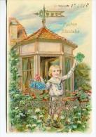 GOFRADA GAUFREE 3D CHILD NIÑO BAMBINO TRÈFLE CLOVER GOLD DETAILS CIRCULEE 1910 TO ARGENTINA EDIT.F.A.S. GECKO - Stripverhalen