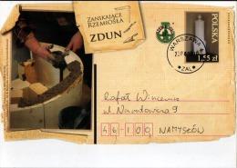 Poland Pologne, Crafts, Professions: Cooper, Barrel, Tonneau, Tonnelier, Postal Stationery 2010 - Métiers