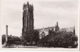 1920 CIRCA - GLASTONBURY ST JOHN'S CHURCH - England