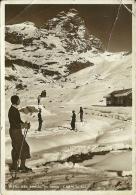 CERVINIA-BREUIL  VALLE D' AOSTA  Campi Di Sci  Sciatori D'epoca - Italia