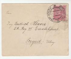 1915? Branik AUSTRIA Czech COVER 10h Stamps Czechoslovakia - 1850-1918 Empire