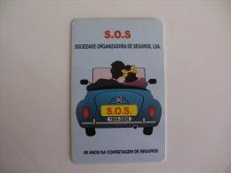 Insurance/ Assurances/ Seguros S.O.S. - Portugal Portuguese Pocket Calendar 2004 - Calendari