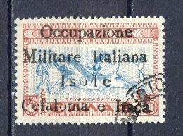 OCCUPAZIONI ITALIANE  1941 - ITACA   N°28 USED - 9. Occupazione 2a Guerra (Italia)