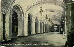 235101-Ohio, Cleveland, Post Office, Interior View, Braun Post Card Company No R-20431