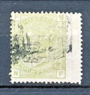 UK 1875-80 Victoria N. 59 - 4 Penny Verde Salvia FN Tavola 16 Usato - Used Stamps