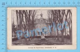 Arthabaska Quebec ( Le Juvenat Du Sacré Coeur- Arriere Condition D´admission ) Carte Postale Post Card Recto/Verso - Advertising