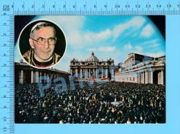 Christianisme ( Papa Giovanni Paolo I, Pape Jean Paul I ) Carte Postale Post Card Recto/Verso - Papes