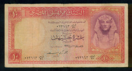 EGYPT / 10 POUNDS / P 32 / 11 APRIL1955  / NM : 20 / SIG. AHMED ZAKI SAAD - Egypte