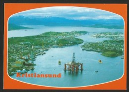 KRISTIANSUND Norway Norge Oil Platform Offshore 1992 - Norvegia