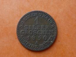 1 SILBER GROSCHEN 1850 A - Other