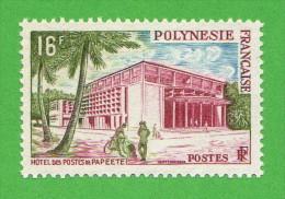 FRP SC #195 MNH  1960 Post Office, Papeete, CV $5.50 - French Polynesia