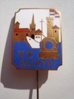 RUSSIA ESTONIA USSR Diving 20 Years ASPTR Badge NICE GRADE - Pin's