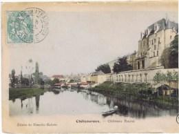 Cpa CHATEAUROUX  Le Chateau Raoul   RARE - Chateauroux