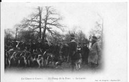 FORET DE RAMBOUILLET : La Chasse à Courre à L'étang De La Tour ; La Curée - Belle CPA Non Utilisée - Rambouillet