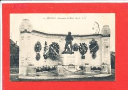 80 PERONNE Cpa Monument Du Marin Delpas  18 HS - Peronne