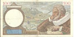 Billet 100 Francs SULLY - 1871-1952 Anciens Francs Circulés Au XXème