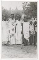 Carte Photo. Afrique. Congo. Groupe De Guerriers. - Afrique