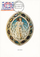 D18967 CARTE MAXIMUM CARD RR FD 1995 NETHERLANDS - SIGNS OF THE ZODIAC NUDE CP ORIGINAL - Astrology
