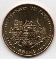 Reims - 51 : Palais Du Tau (Monnaie De Paris - 2010) - Monnaie De Paris