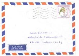 VEND TIMBRE DE MADAGASCAR N° 2583 SUR LETTRE , COTE : ? , !!!! (g) - Madagascar (1960-...)