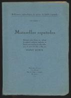 Matasellos espanoles 1850-1869 por P. Monge