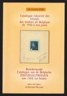 Catalogue raisonn� des essais des timbres de Belgique de 1910 � nos jours par Stes