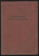 Dienstanweisung fur den Postcheckverkehr , kaiselich deutsche post-und telegraphenverwaltung in Begien