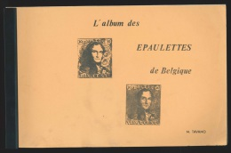 L'album des Epaulettes de Belgique par M Tavano