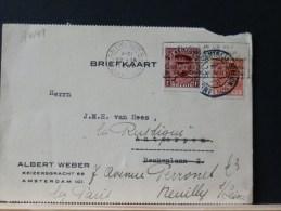 B/4149 CP  1931 P.B.  + TIMBRE BELGE  POUR LA FRANCE - België