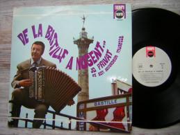 33 T LP JO PRIVAT ET SON ACCORDEON MUSETTE  DE LA BASTILLE A NOGENT BIEM 240 032TRIUMPH RECORDS MADE IN FRANCE - Musicals