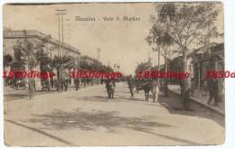 MESSINA - VIALE S. MARTINO  F/PICCOLO VIAGGIATA 1922 ANIMATA - Messina
