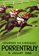 @@@ MAGNET - Courses Chevaux Porrentruy - Reklame