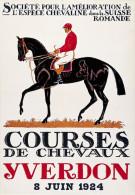 @@@ MAGNET - Courses De Chevaux Yverdon - Reklame